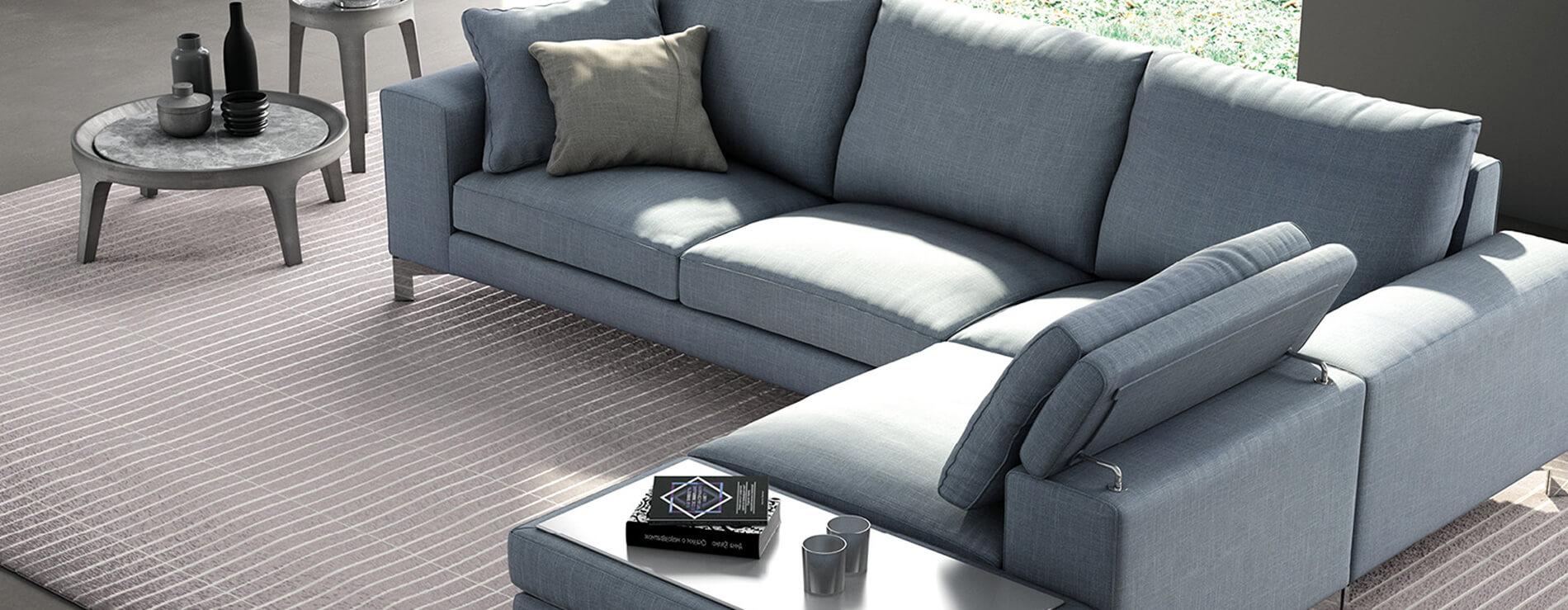 divano Silver di Biba