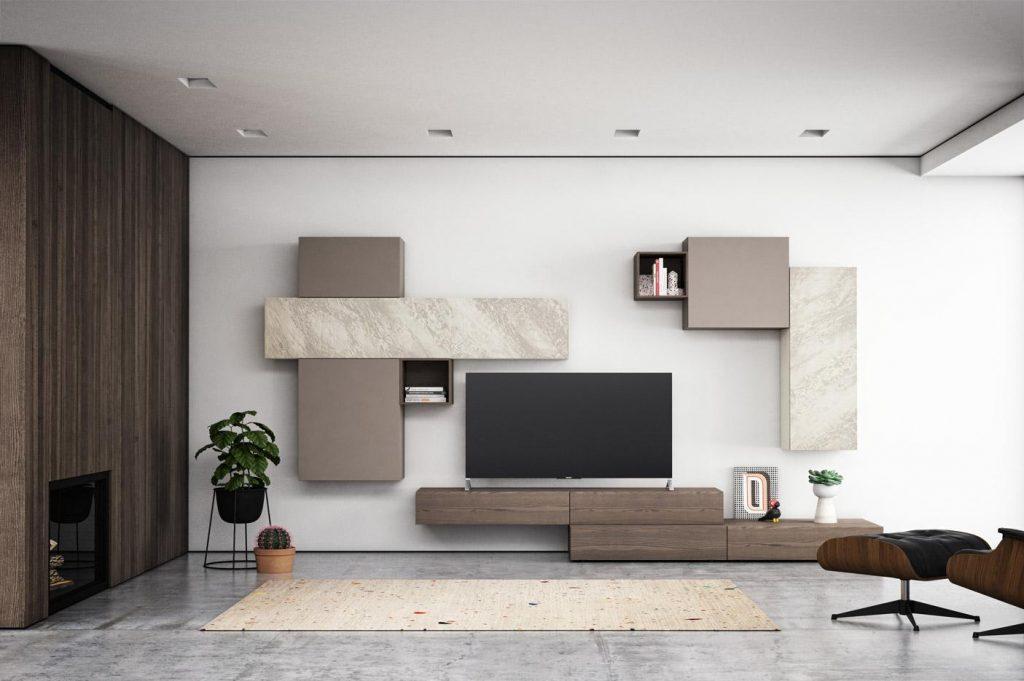 Suggestioni per la zona giorno mobilgam centro mobili for Mobili zona giorno