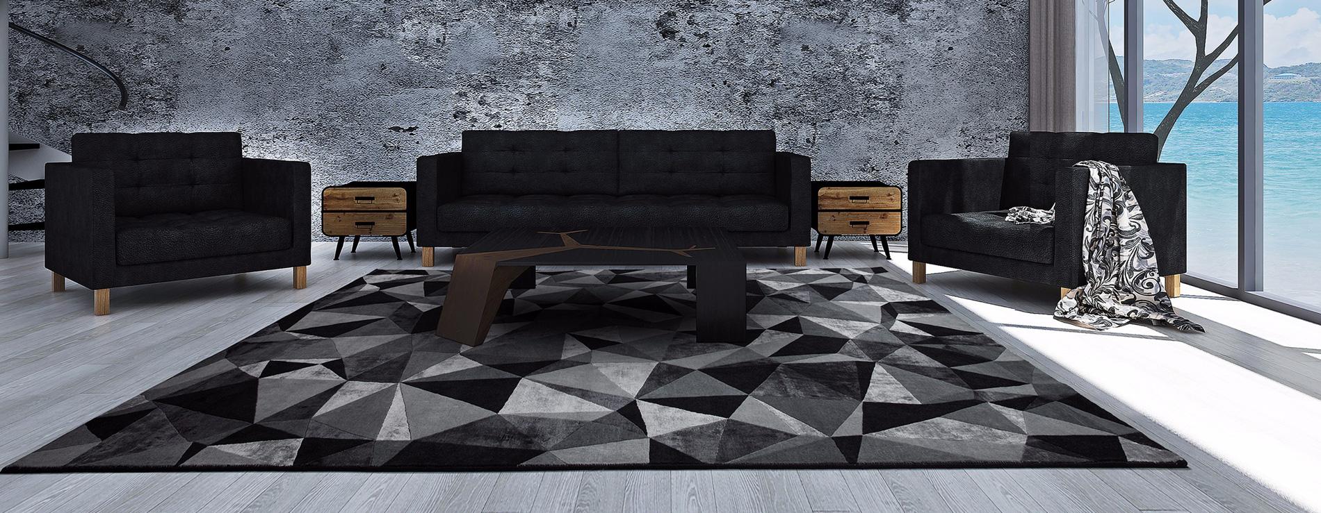 Tappeto geometrico Kaleidoscope - Sitap