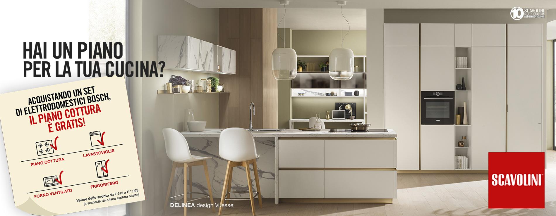 Hai un piano per la tua cucina?
