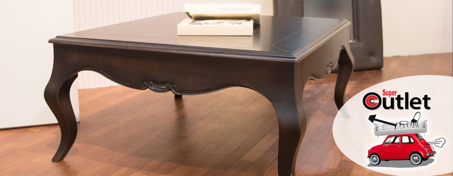Tavolino basso in legno in promozione