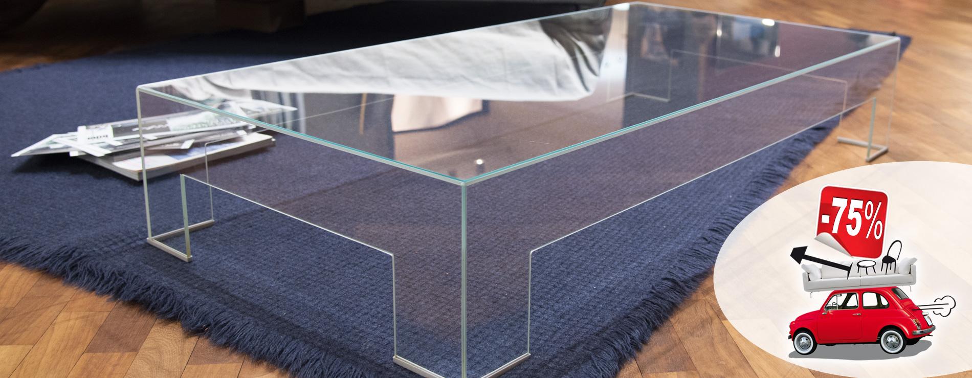 Tavolino Glass in promozione