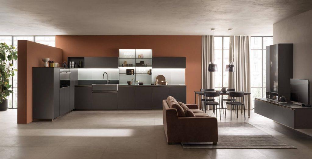 Cucina open space Delinea Scavolini