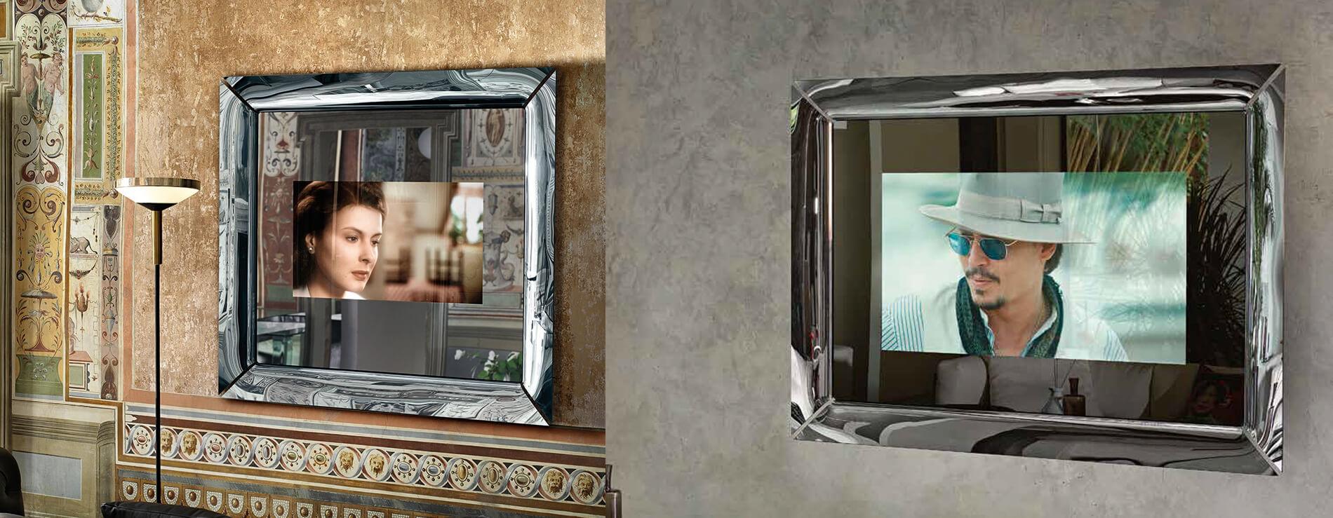 Specchio Cadre Tv di Fiam