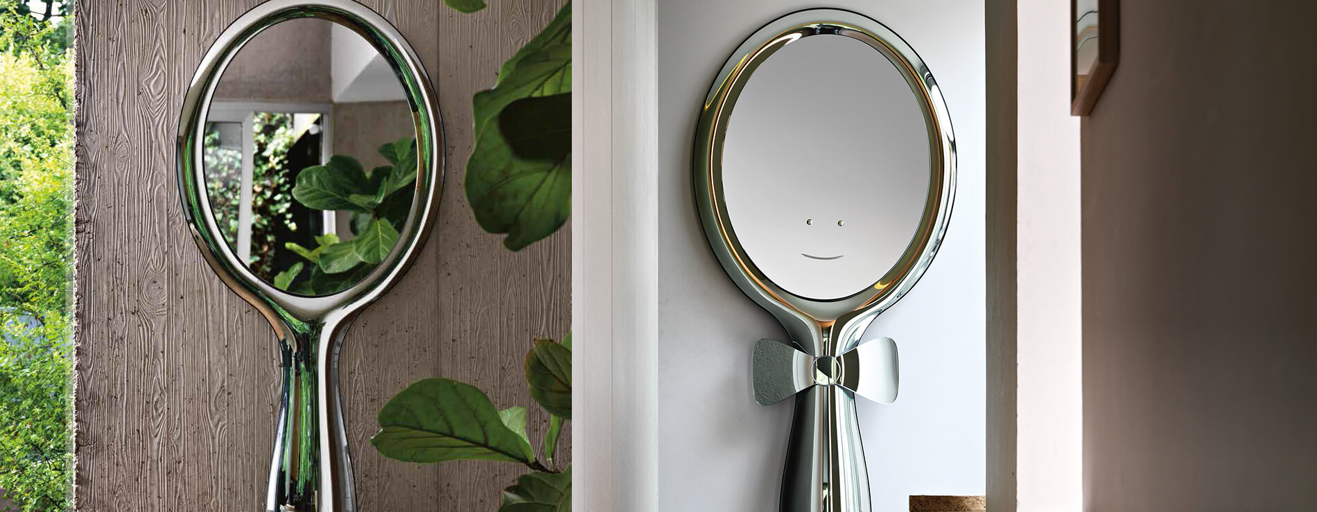 Specchio Lollipop di Fiam