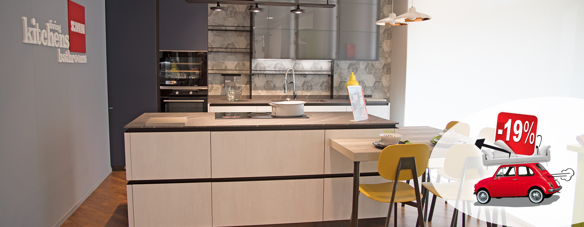 Cucina Delinea Scavolini in promozione