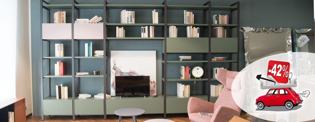 Libreria Pontile Novamobili in promozione