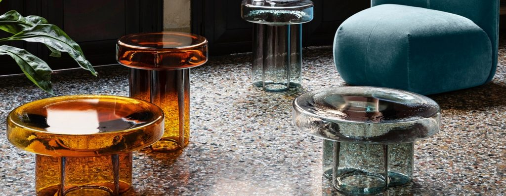 Tavolino vetro soffiato Soda   Miniforms